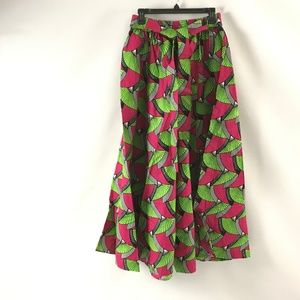 Satsuma Women's Long Maxi Skirt African Ankara